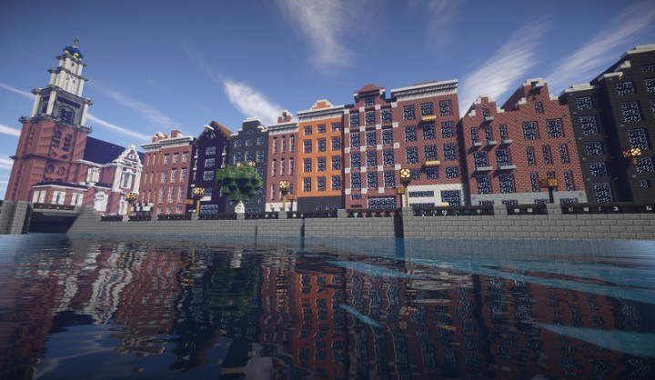 Special: Amsterdam in Minecraft