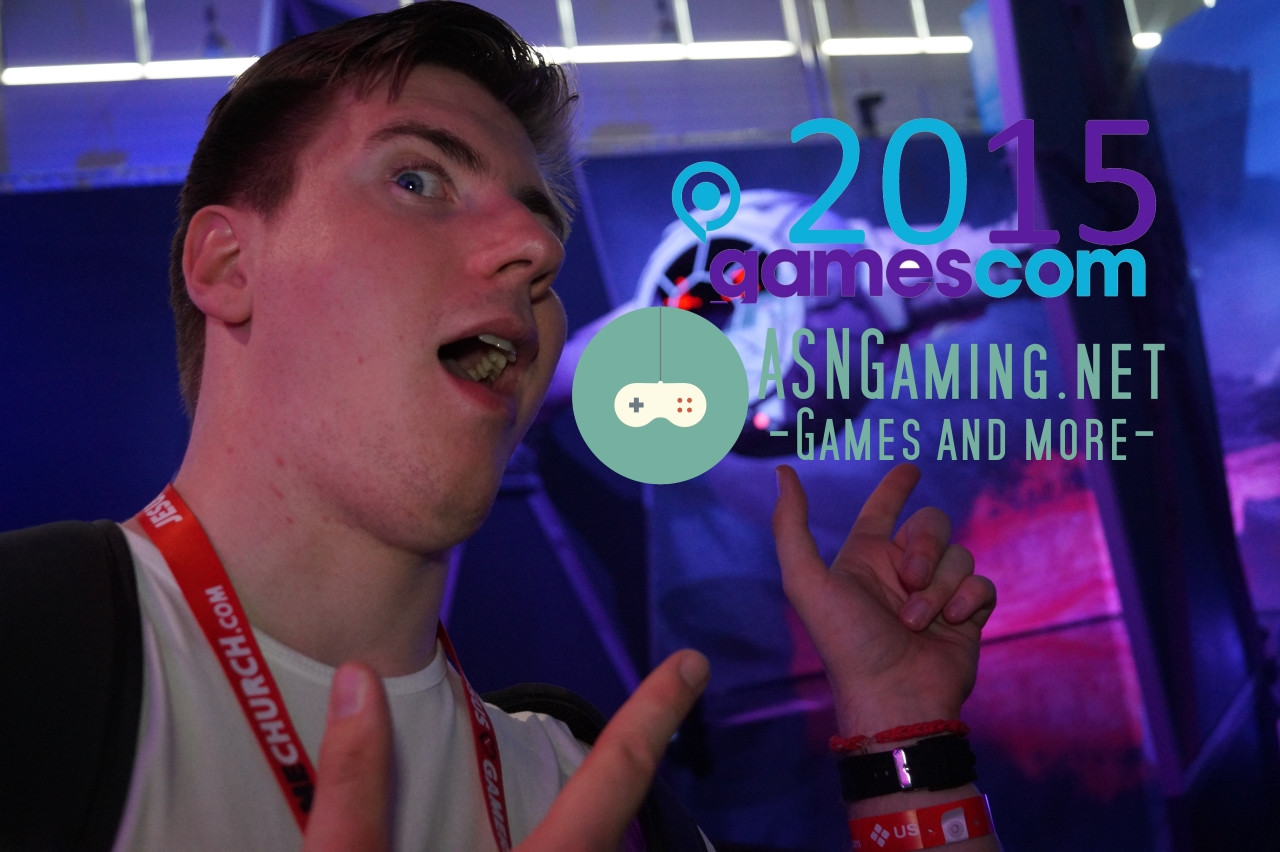 """Awesome Mediaday!"" - Gamescom 2015"