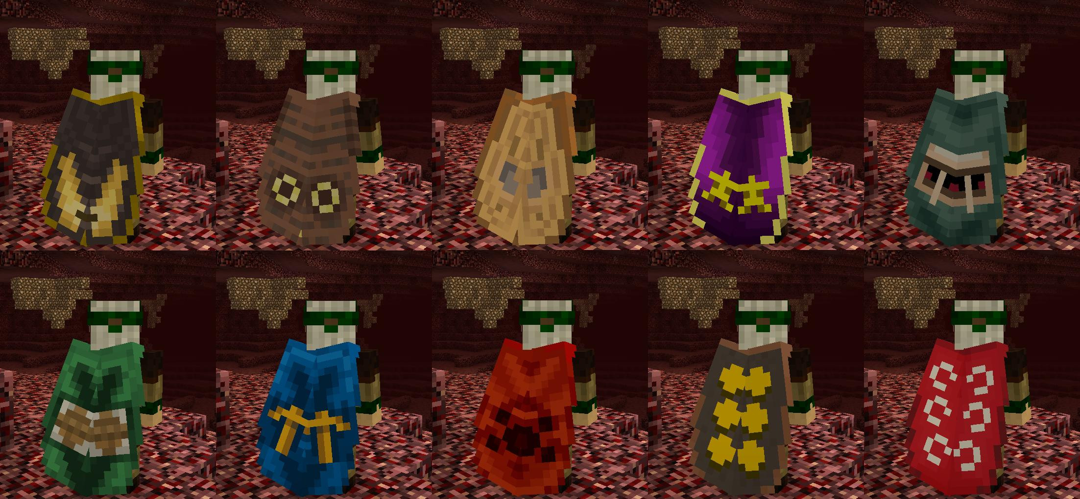 Capes in Minecraft